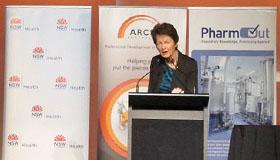 Christine Jenkins speaking at ARCS 2014