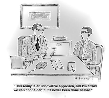 Innovative Approach Cartoon