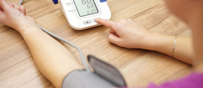 Intensive blood pressure lowering reduces heart attacks