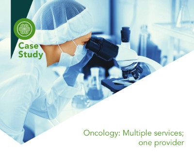 Oncology: Multiple services; one provider