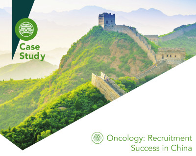 Oncology: Recruitment Success in China
